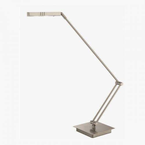 LED Flügel-Leuchte Leggiero platin