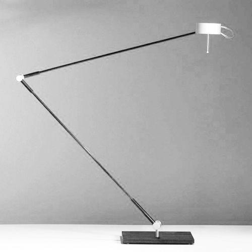Flügellampe Diminuendo schwarz Touchschalter