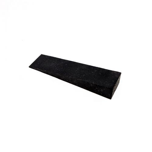 Stimmkeil Gummi - schwarz - Breite 20 mm