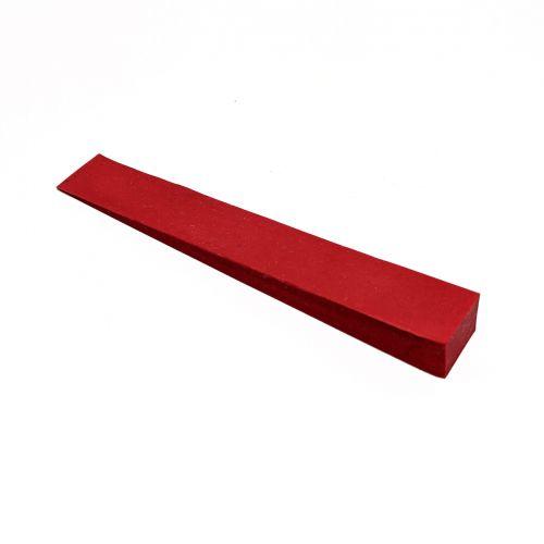 Stimmkeil Gummi - rot - 15 mm breit