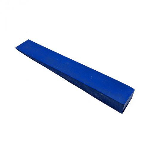 Stimmkeil Gummi - blau - Breite 15 mm