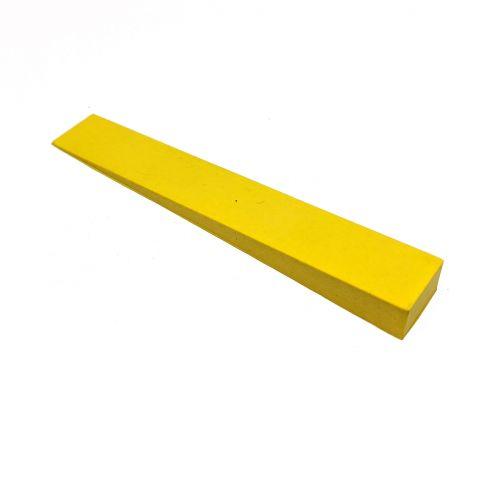 Stimmkeil Gummi - gelb - 15 mm breit