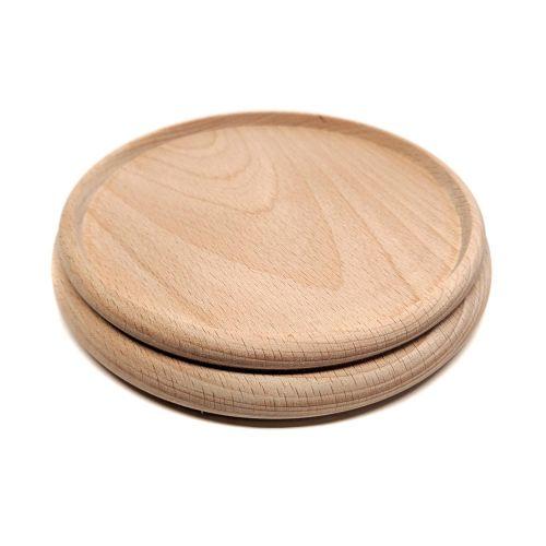 Untersetzer - Holz natur - Ø160mm