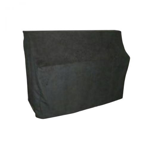Pianodecke - Wildlederimitat - 115x154x66cm