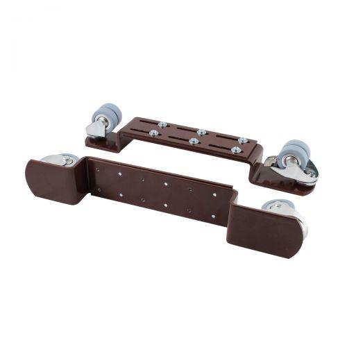 Piano Rollenböcke - für Parkett geeignet - mit Bremse