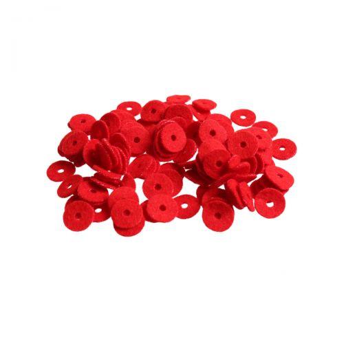 Waagebalkenscheiben - rot -  Ø12mm