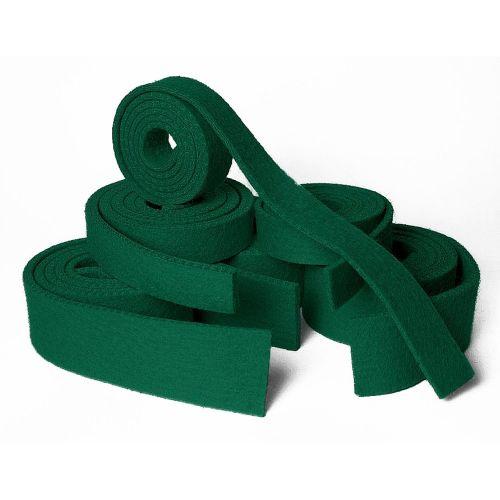 Klaviaturrahmenstreifen - 1300 x 28 mm - grün