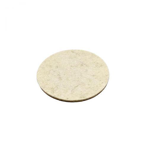 Merino felt pad - Ø56mm x 3mm