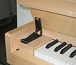 Klappenbremse für Piano